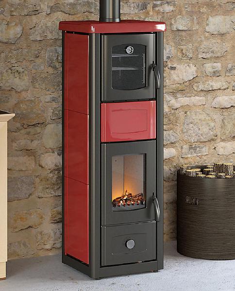 Enea stufa a legna con forno mille idee casa - Stufa caldaia a legna ...