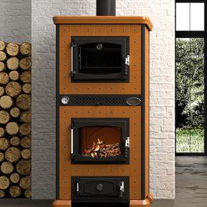 termostufa regina con forno